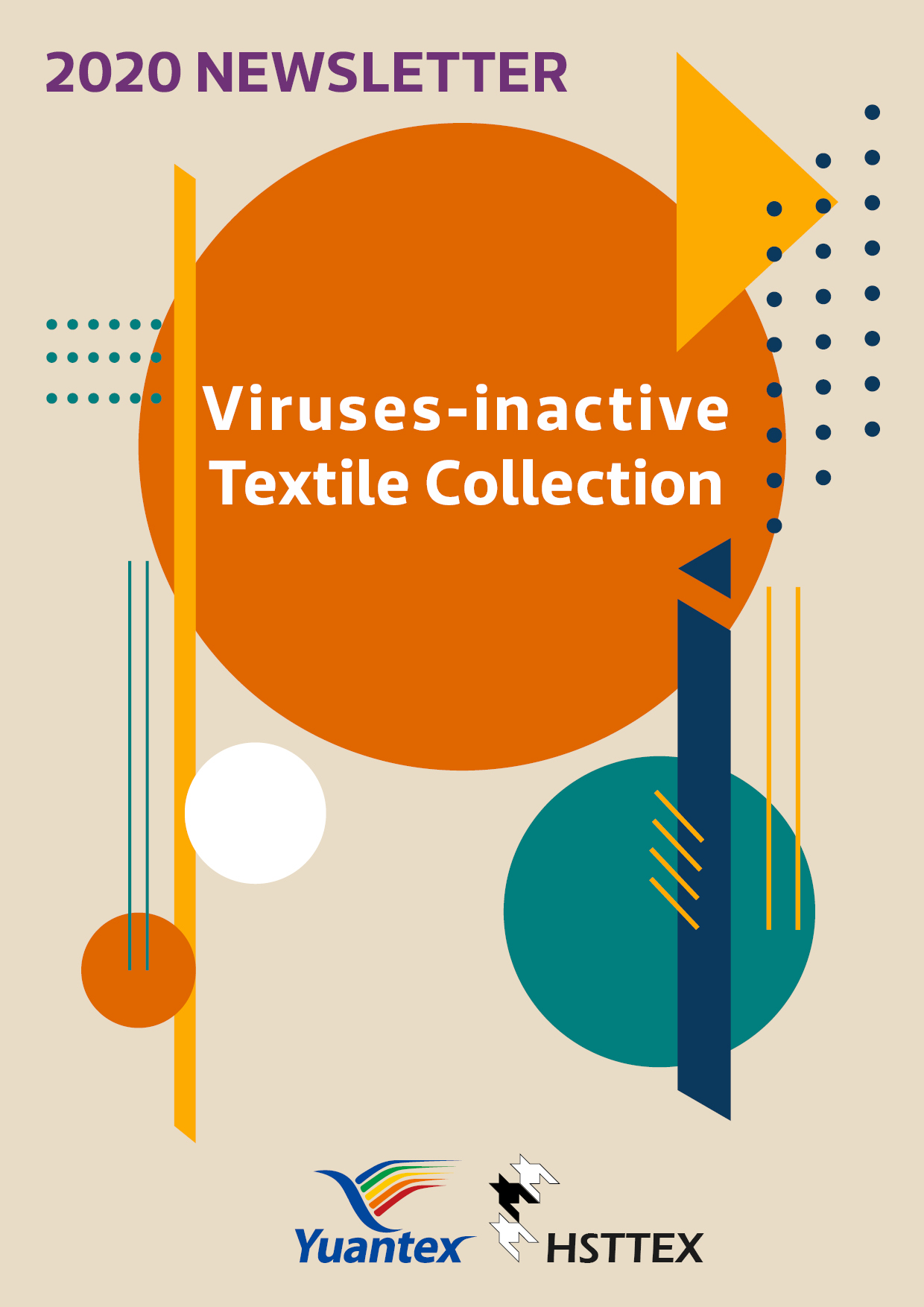 Viruses inactive Textile